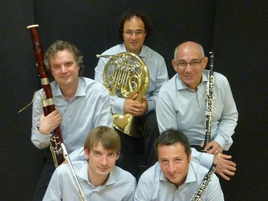 Photo du Quintette à vents de Marseille